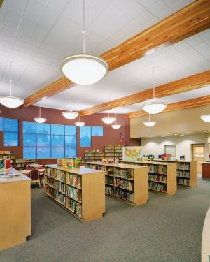 Reflection Pendant-Emerson Elementary Library