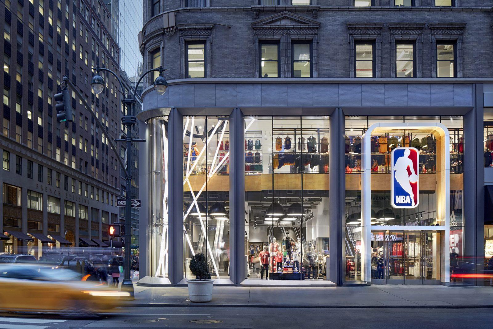 NBA Store, 5th Avenue - TINY pendant